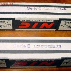 Juguetes Antiguos: DOS ANTIGUAS PELICULAS DE CINE NIC . Lote 13736003