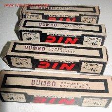 Juguetes Antiguos: CUATRO ANTIGUAS PELICULAS DEL CINE NIC - DUMBO. Lote 26765638