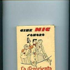 Juguetes Antiguos: CINE NIC SONORO COLECCION COMPLETA CAJA CON SEIS PELICULAS NUEVAS LA CENICIENTA. Lote 6041243