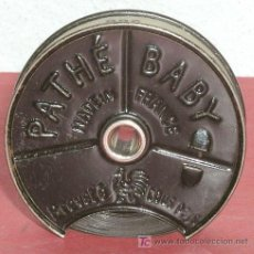 Juguetes Antiguos: PELICULA PATHE BABY DE 9 1/2 MM- THE INVENTIONS OF MECANICAS THE HAIR RESTORER. Lote 6454026