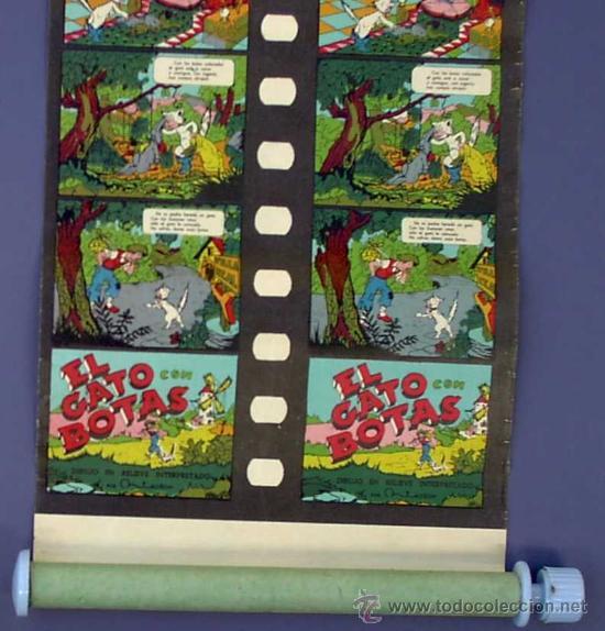 Juguetes Antiguos: CINE INFANTIL EN RELIEVE O 3D JIN. + 5 PELÍCULAS. SIN FECHA. 1950S ? - Foto 9 - 43397975