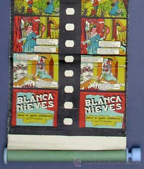 CINE INFANTIL EN 3 DIMENSIONES JIN. Nº 2. BLANCA NIEVES. BLANCANIEVES. SIN FECHA, AÑOS 50 - 60'S (Juguetes - Pre-cine y Cine)