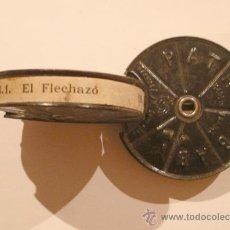 Juguetes Antiguos: 1ª Y 2ª PARTE EL FLECHAZO DE 9,5 MM, BOBINA DE 7CM DIÁMETRO. Lote 27243713
