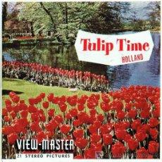 Juguetes Antiguos: 3 DISCOS DE VIEW MASTER SAWYER´S C1960 - TIEMPO DE TULIPANES HOLANDA. Lote 11070694