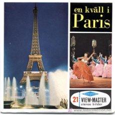 Juguetes Antiguos: 3 DISCOS DE VIEW MASTER SAWYER´S C1960 - PARIS. Lote 11070847