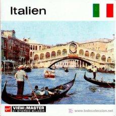 Juguetes Antiguos: 3 DISCOS DE VIEW MASTER GAF C1960 - ITALIA. Lote 11071164