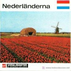 Juguetes Antiguos: 3 DISCOS DE VIEW MASTER GAF C1960 - HOLANDA. Lote 11071571