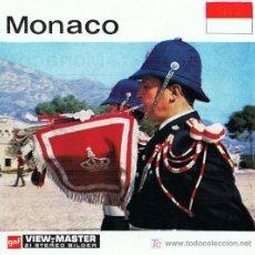 Juguetes Antiguos: 3 DISCOS DE VIEW MASTER GAF C1960 - MONACO. Lote 11071604