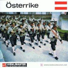 Juguetes Antiguos: 3 DISCOS DE VIEW MASTER GAF C1960 - AUSTRIA. Lote 11072378