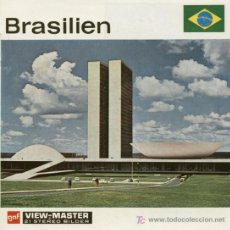 Juguetes Antiguos: 3 DISCOS DE VIEW MASTER GAF C1960 - BRASIL. Lote 11072442