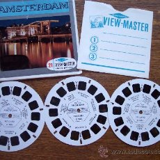 Juguetes Antiguos - 3 DISCOS 3D *Estereofotos View-Master * AMSTERDAM-C388 - 13715381