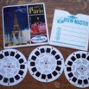 Juguetes Antiguos: 3 DISCOS 3D *ESTEREOFOTOS VIEW-MASTER * UN SOIR A PARIS-C202. Lote 13715484