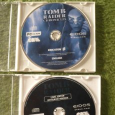 Juguetes Antiguos: TOMB RAIDER CRONICLES . PC CD ROM - CORE - ERICSSON- EIDOS.COM . AÑO 2000. Lote 18756729