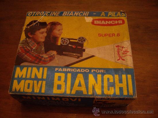 PROYECTOR DE CINE BIANCHI SUPER 8 (Juguetes - Pre-cine y Cine)