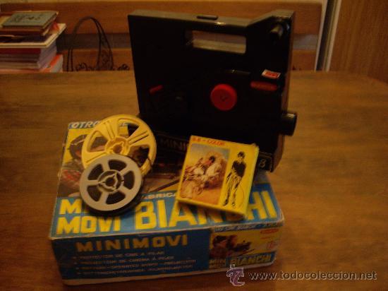 Juguetes Antiguos: Proyector de cine bianchi Super 8 - Foto 3 - 18192085