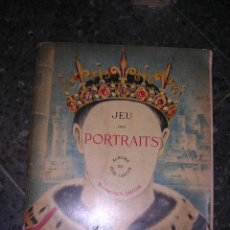 Juguetes Antiguos: LIBRO DE MOVIMIENTO,JEU DES PORTRAITS,ALBUMS DU PERE CASTOR,IMAGES DE GEORGES TCHERKESSOF,1934-. Lote 27474061