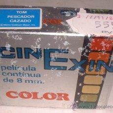 Juguetes Antiguos: PELICULA CINE EXIN, TOM PESCADOR CAZADO, REF 1305, EN CAJA. CC. Lote 44232399
