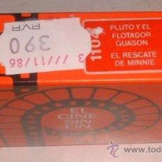 Giocattoli Antichi: PELICULA CINE EXIN, PLUTO Y EL FLOTADOR GUASON, EL RESCATE DE MINNIE, REF 1104, EN CAJA. CC. Lote 26676461