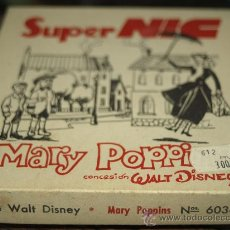 Juguetes Antiguos: SUPER NIC PELICULA COMPLETA MARY POPPINS. Lote 28092572