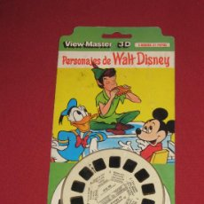 Jouets Anciens: VIEW-MASTER 3D, 3 DISCOS: 21 ESTEREOFOTOS, DISNEY: PERSONAJES DISNEY. Lote 28552806