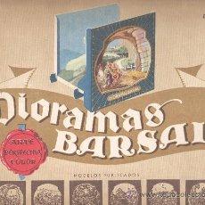 Juguetes Antiguos: EXTRAORDINARIO DIAROMA BARSAL - Nº5 GRANDES DIMENSIONES PRECPECTIVA JAMAS IGUALADA. Lote 224703950