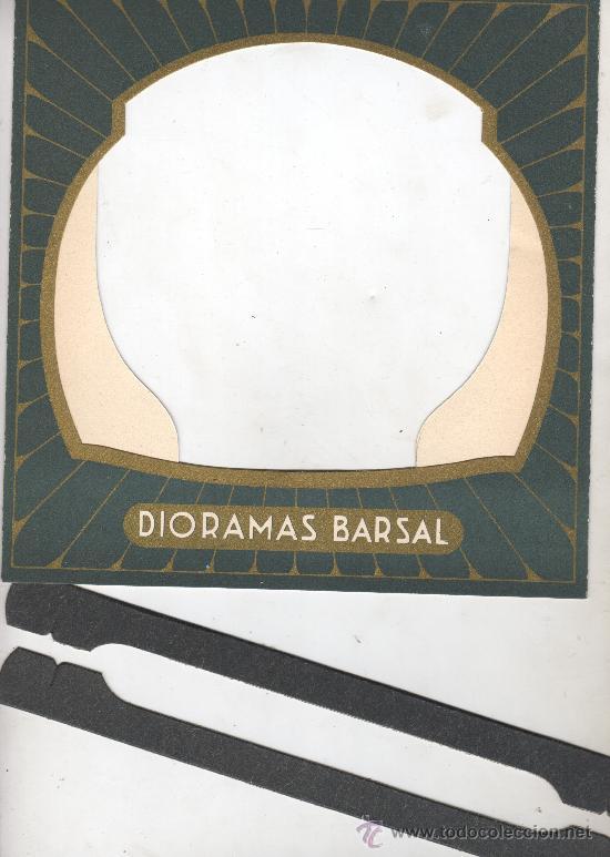 Juguetes Antiguos: extraordinario diaroma barsal - nº5 grandes dimensiones precpectiva jamas igualada - Foto 5 - 30398649