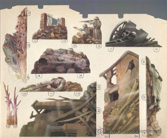 Juguetes Antiguos: extraordinario diaroma barsal - nº5 grandes dimensiones precpectiva jamas igualada - Foto 7 - 30398649