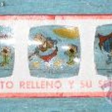 Juguetes Antiguos: ANTIGUA DIAPOSITIVA DE EDITORIAL BRUGERA PARA PROYECTOR RICO - GORDITO RELLENO Y SU SOBRINO Nº8 -. Lote 32681975
