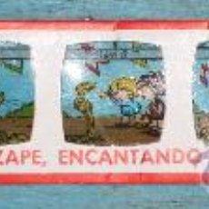 Juguetes Antiguos: ANTIGUA DIAPOSITIVA DE EDITORIAL BRUGERA PARA PROYECTOR RICO - ZIPI Y ZAPE ENCANTANDO SERPIENTES Nº. Lote 32682004