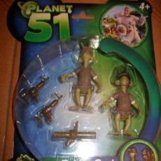 Juguetes Antiguos: PLANET 51 - SOLDIER PACK - DREAMWORKS PIXAR - SIMBA - PRECINTADO. Lote 34682133