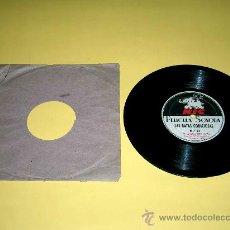 Juguetes Antiguos: DISCO PELÍCULA SONORA CINE NIC SONORO: Nº 26 LA CIGARRA Y LA HORMIGA Y Nº 27 RATAS CODICIOSAS.. Lote 35224264