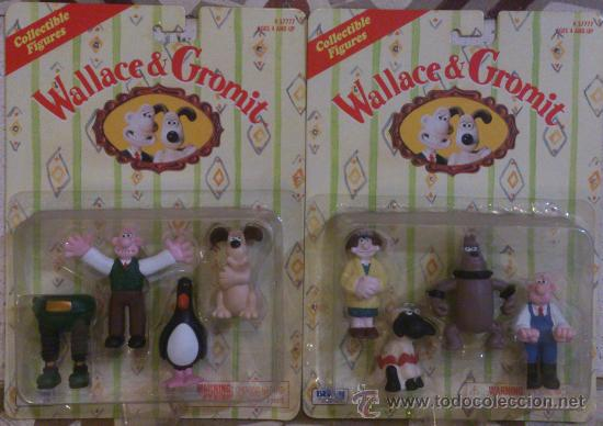 WALLACE & GROMIT COMPLETE COLLECTION BLISTERS (Juguetes - Pre-cine y Cine)