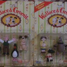Juguetes Antiguos: WALLACE & GROMIT COMPLETE COLLECTION BLISTERS. Lote 35566988
