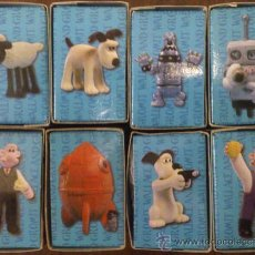 Juguetes Antiguos: WALLACE & GROMIT COMPLETE COLLECTION BOX. Lote 35567009