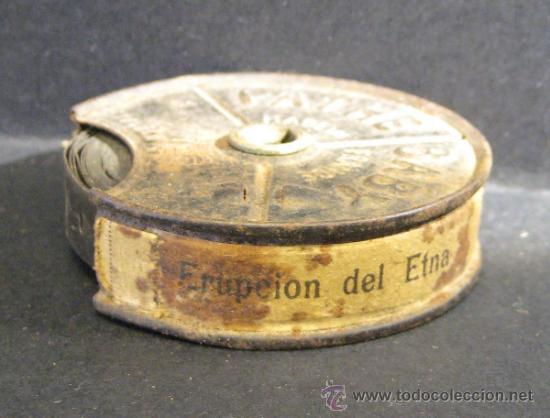 ERUPCION DEL ETNA. PATHE BABY. 9,5 MM. BOBINA 5 CM. NO VISIONADA (Juguetes - Pre-cine y Cine)