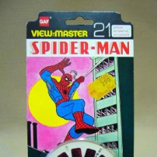Juguetes Antiguos: 3 DISCOS VIEW MASTER, GAF, SPIDER MAN, 1978. Lote 36093849