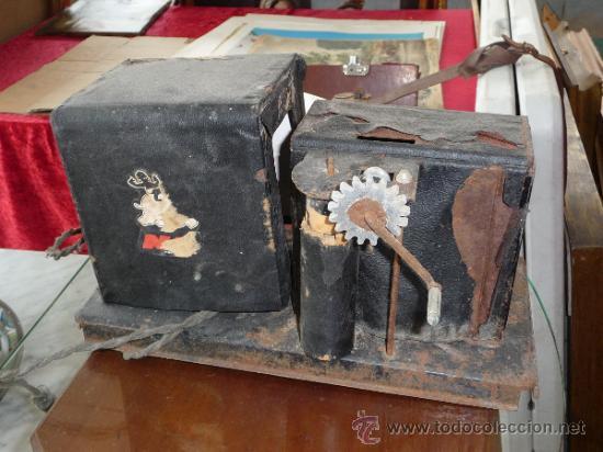 Juguetes Antiguos: Antigua maquina de cine nic, para recanvios. - Foto 6 - 37243411