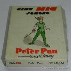 Giocattoli Antichi: CAJA CON 6 PELICULAS DE CINE NIC SONORO. PETER PAN DE WALT DISNEY, EN SU CAJA ORIGINAL, SERIE M, N. . Lote 37484898