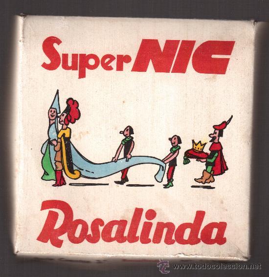 PELICULAS SUPER NIC, CAJA COMPLETA, ROSALINDA, NUM.-537/542 (Juguetes - Pre-cine y Cine)