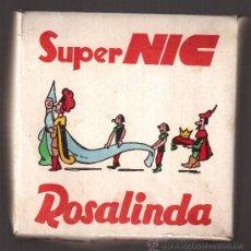 Juguetes Antiguos: PELICULAS SUPER NIC, CAJA COMPLETA, ROSALINDA, NUM.-537/542. Lote 37564625
