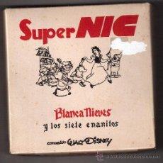 Juguetes Antiguos: PELICULAS SUPER NIC, CAJA COMPLETA, BLANCA NIEVES Y LOS 7 ENANITOS, NUM.-609/614. Lote 37564676