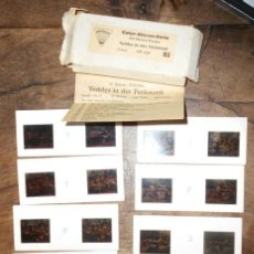 Juguetes Antiguos: MIKROLUX - COLOR STEREO SERIE - EL OSITO TEDDY - TEDDY DE VACACIONES. Lote 41009098