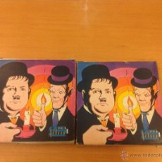 Juguetes Antiguos: STAN LAUREN Y OLIVER HARDY DOS PELICULAS MINI FILMS MADE IN ITALIA 35 MM. Lote 41728942