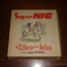 Brinquedos Antigos: PELICULA COMPLETA CINE SUPER NIC. EL LIBRO DE LA SELVA. Lote 42588662