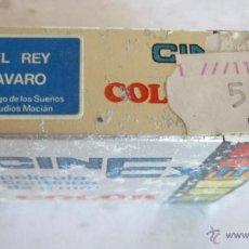 Juguetes Antiguos: PELICULA CINE EXIN, EL REY ALVARO, REF 1309, EN CAJA. CC. Lote 54020819