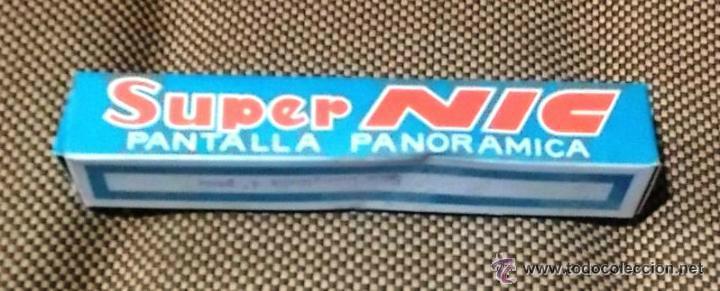 SUPER NIC. PANTALLA PANORAMICA. SERIE DISNEYLANDIA 5ª PARTE (Juguetes - Pre-cine y Cine)