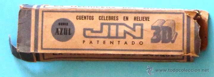 Juguetes Antiguos: CINE INFANTIL EN 3 DIMENSIONES JIN. LA HECHICERA DEL BOSQUE. SIN FECHA, AÑOS 50 - 60S - Foto 3 - 44377777
