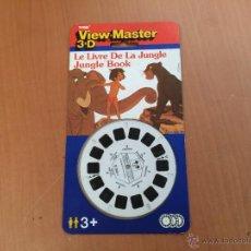 Juguetes Antiguos: VIEW MASTER DE TYCO 1989 EL LIBRO DE LA SELVA SIN USAR. Lote 44714110