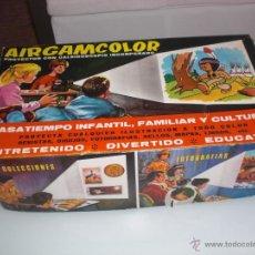 Juguetes Antiguos: PROYECTOR AIRGAMCOLOR CON CAJA - PERFECTO ESTADO. Lote 45825241