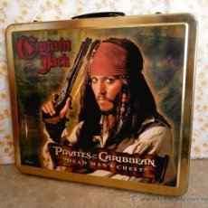 Juguetes Antiguos - Maleta chapa Piratas caribe maletin meta diorama 2007 - 47128980
